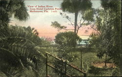 View of Indian River from Hotel Carleton Porch
