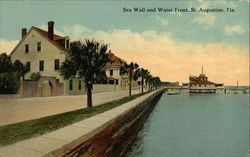 Sea Wall and Water Front