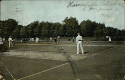 Tennis Game, Hainesfalls Catskill Mts