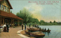 Boat Landing, Stow Lake, Golden Gate Park