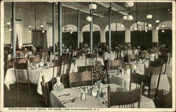 Dining Room, Hotel Weirs, The Weirs