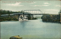 Bridge at Outlet of Lake Winnipesaukee