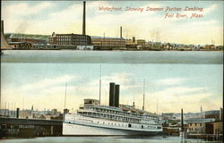 Waterfront, Showing Steamer Puritan Landing