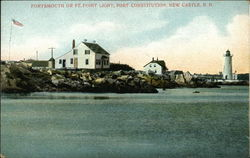 Portsmouth or Ft. Point Light, Fort Constitution