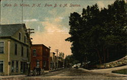 Main Street from B. & M. Station