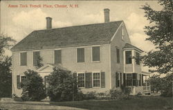 Amos Tuck French Place Postcard