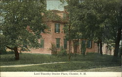 Lord Timothy Dexter Place Postcard