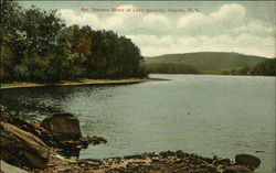 Eastern Shore of Lake Queechy Postcard