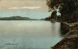 Queechy Lake Postcard