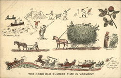 The Good Old Summer Time in Vermont