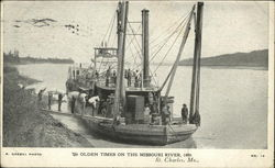 Olden Times on the Missouri River, 1880
