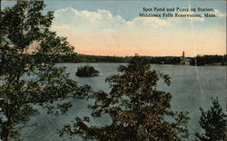 Spot Pond and Pumping Station, Middlesex Fells Reservation, Mass