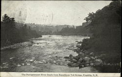 The Pemigewasset River South from Republican Toll Bridge