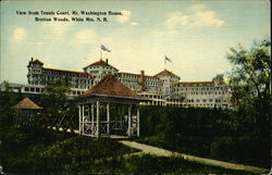Mt. Washington House - View from Tennis Court