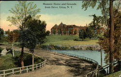 Masonic Home and Grounds from Drive