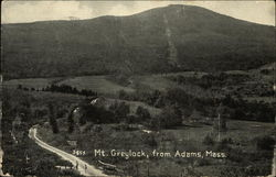 Mt. Greylock, Seen From Adams, Mass