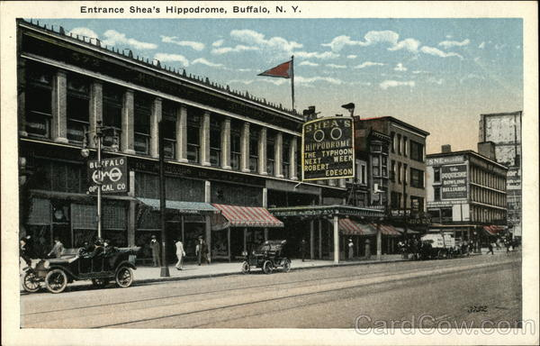 Shea's Hippodrome - Entrance Buffalo New York