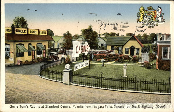Uncle Tom's Cabins at Stamford Centre Niagara Falls Canada