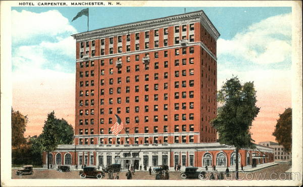 Street View of Hotel Carpenter Manchester New Hampshire