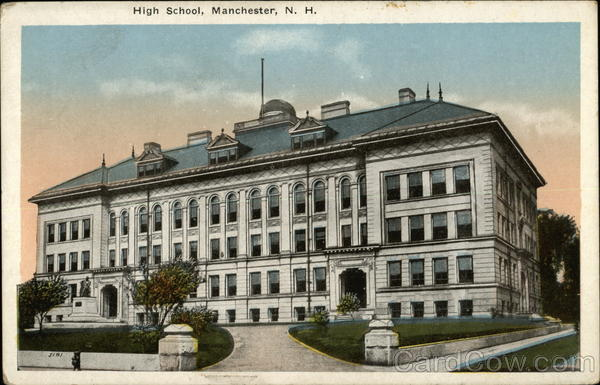 Street View of High School Manchester New Hampshire