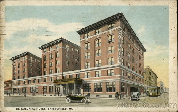 The Colonial Hotel Springfield Missouri