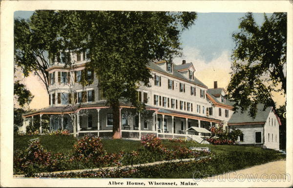 Albee House and Grounds Wiscasset Maine