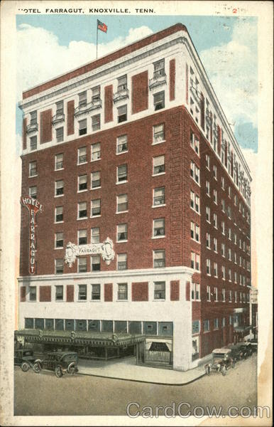 Hotel Farragut Knoxville Tennessee