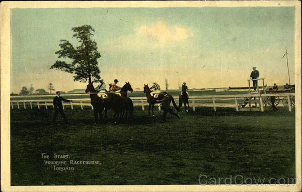 Woodbine Racecourse - The Start Toronto Canada Ontario