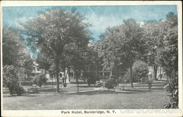 Park Hotel Bainbridge New York