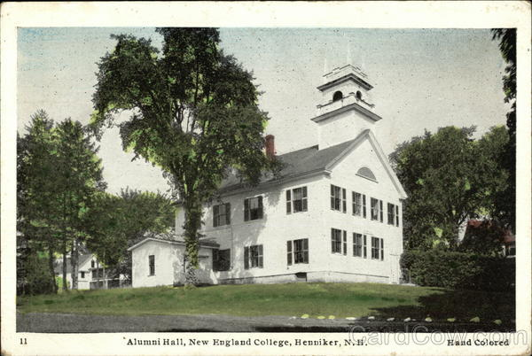 Alumni Hall at New England College Henniker New Hampshire
