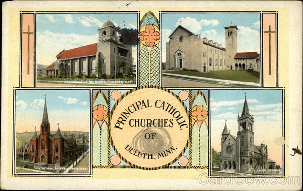 Principal Catholic Churches Duluth Minnesota