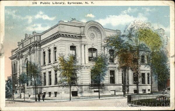 Street View of Public Library Syracuse New York