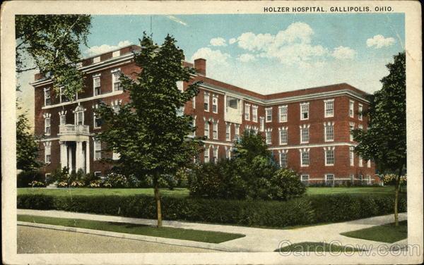 Holzer Hospital Gallipolis Ohio