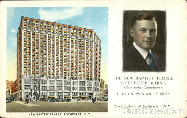 New Baptist Temple and Office Building Rochester New York