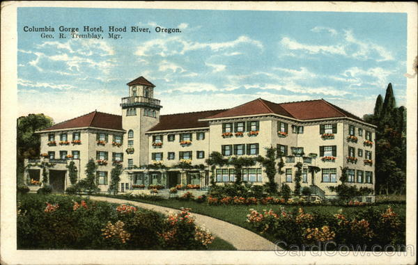 Columbia Gorge Hotel Hood River Oregon