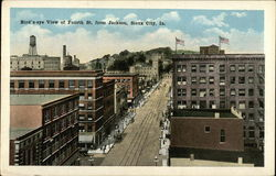 Bird's Eye View of Fourth Street from Jackson