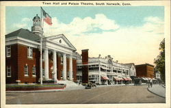 Town Hall and Palace Theatre