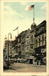 Tremont Street and Keith's Theatre Postcard
