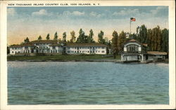 New Thousand Island Country Club Postcard