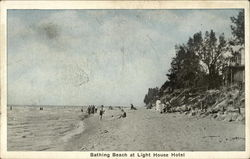 Bathing Beach at Light House Hotel