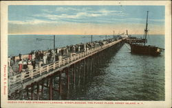 Ocean Pier and Steamboat Landing