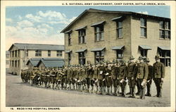 U.S. National Army Cantonment, Camp Custer