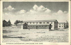 Engineers' Headquarters at Camp Devens