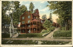 Story's Tavern - Lake Winnipesaukee Postcard