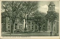Post Office and Customs House