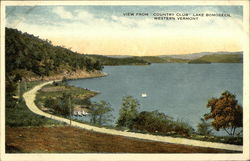 View from Country Club, Lake Bonoseen, Western Vermont