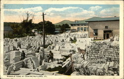 Marble Yard at Centre Postcard