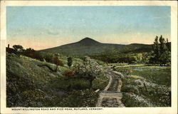Mount Killington Road and Pico Peak Postcard