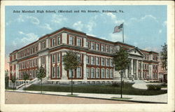 John Marshall High School, Marshall and 8th Streets