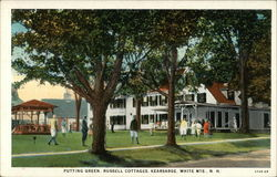 Putting Green, Russell Cottages